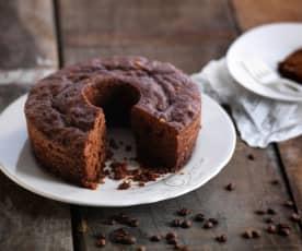 Gâteau noix-café à la vapeur