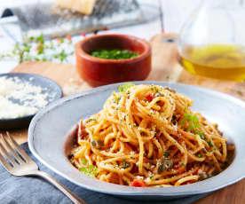 Spaghetti alla putanesca