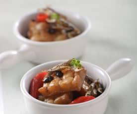 豆豉小魚燒苦瓜