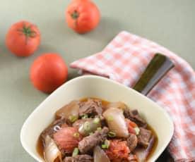 蕃茄牛肉煲