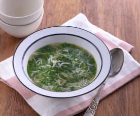 銀魚莧菜羹