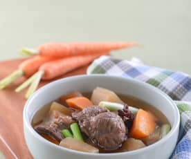 五香蘿蔔牛肉湯