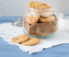 Pohankové cookies s bílou čokoládou a kardamomem