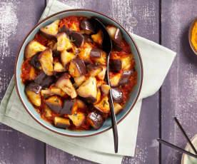 Mijoté d'aubergine