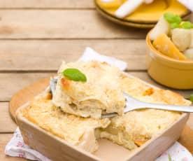 Lasagne s kysaným zelím