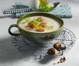 Fenchel-Maroni Suppe