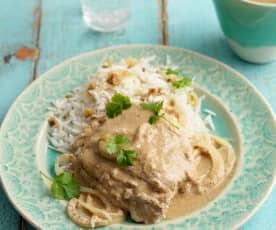 Dahi Wali Macchi (Haddock Baked in Yoghurt)