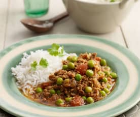 Lamb Keema with Peas