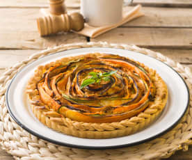 Ratatouille quiche