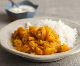 Masala Kaddu (Pumpkin Curry)