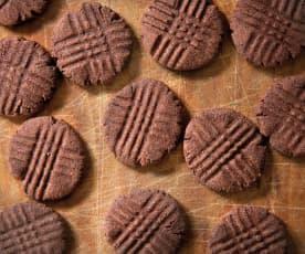 Ciastka czekoladowo-pomarańczowe (bez cukru)