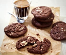 Coffee-White-Chocolate-Cookies
