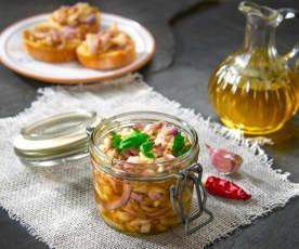 Melanzane sott'olio alla siciliana