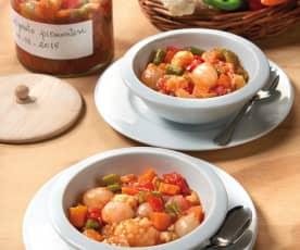 醃漬鮪魚橄欖季節食蔬