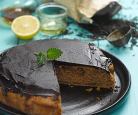Earl Grey čajový koláč (bez cukru)