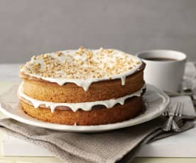 Almond and Vanilla Dessert Cake
