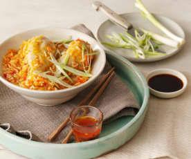 Sladkokyselé kuře s rýží
