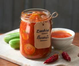 Zucchine piccanti