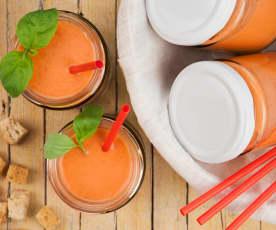 Gazpacho di pomodoro e basilico