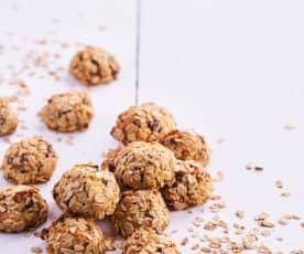 Oats, Coconut and Honey Balls