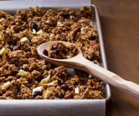 Breakfast cereal clusters