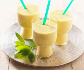 Mango-Thai-Basilikum-Lassi