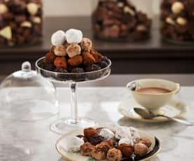 Tartufini al cioccolato piccanti (alla maniera de Chocolat)