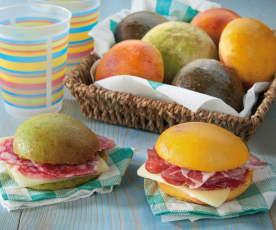 Sandwich colorati