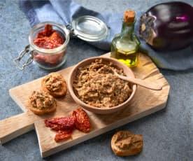 'Caviale' di melanzane e lenticchie (vegan)