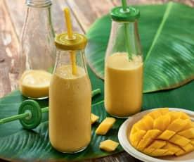 Milk-shake vanille-mangue