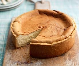 Cheesecake à la vanille cuit
