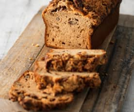 Maple, Pecan and Banana Bread