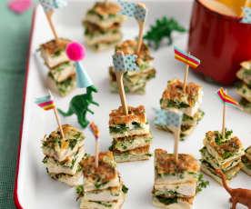 Omelette Sticks