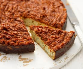 Ricotta and Sun-Dried Tomato Cheesecake