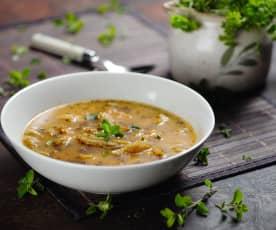 Dršťková polévka