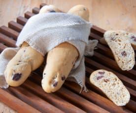 Filoncini di avena e olive taggiasche (vegan)