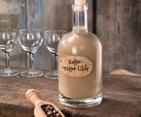 Kávovo-karamelový likér