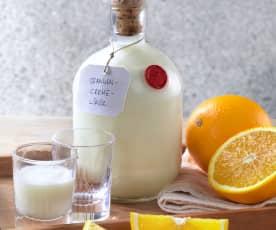 Krémový pomerančový likér