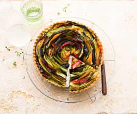 Crostata di verdure provenzale