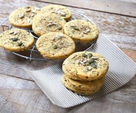 Biscotti con i semi (vegan)