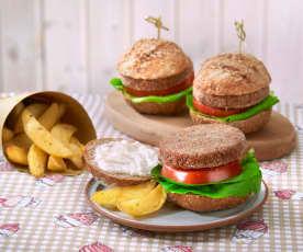 Veg-burger (vegan)