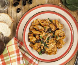 Gomiti, olive e acciughe