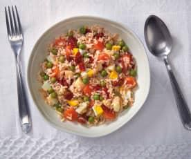 Insalata di riso parboiled