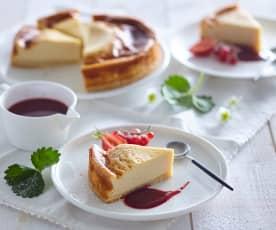 Cheesecake z tofu (bez laktózy)