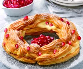 Dessert di Capodanno alla melagrana