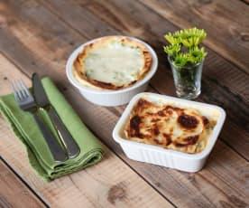 Lasagne con i broccoletti e salsa al pecorino romano DOP (di Francesca Romana Barberini)