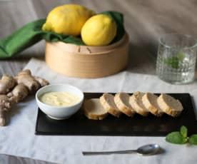 Il mio polpettone di tonno con maionese allo zenzero (di Francesca Romana Barberini)