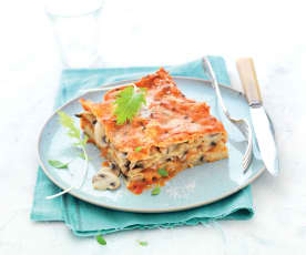 Lasagnes champignons-fromage