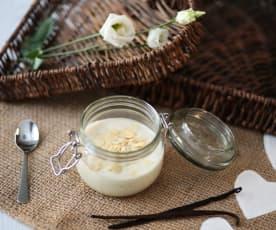 Biancomangiare alle mandorle e miele d'acacia (di Francesca Romana Barberini)