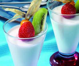 Citrónový mousse z jogurtu a smetany